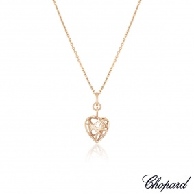 Chopard Rose Gold Guli Heart Pendant